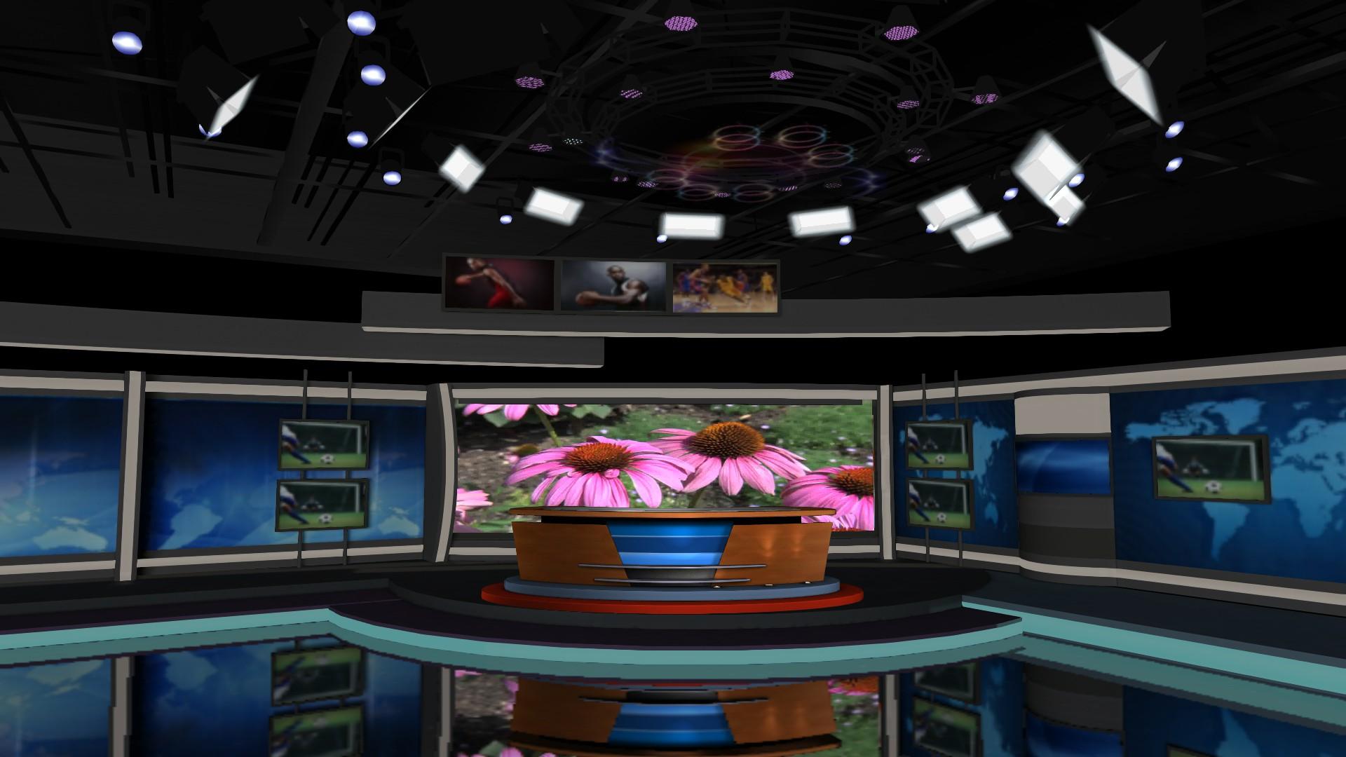 双重屏幕新闻联播主题