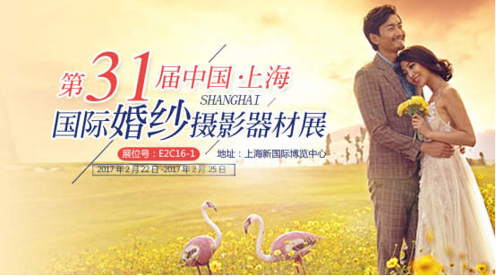 汇隆集团将与您相约中国.上海国际婚纱摄影器材展览会